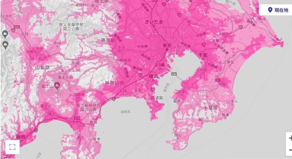 関東地方 エリア