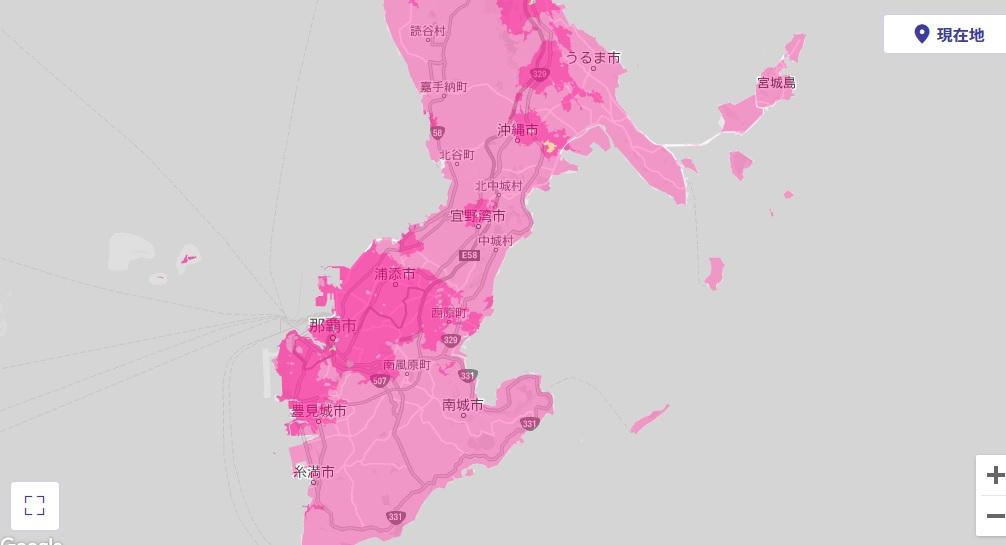 沖縄 エリア