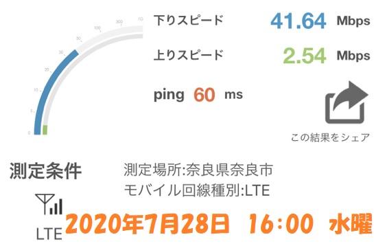奈良市 通信速度